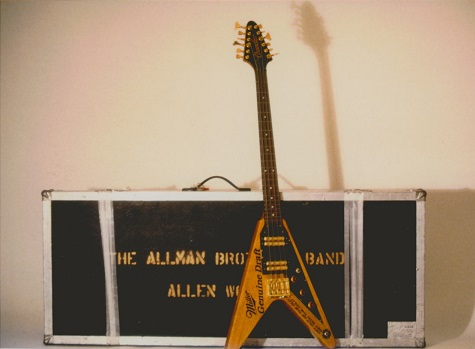 Allman Brothers Flying V 12-String Bass